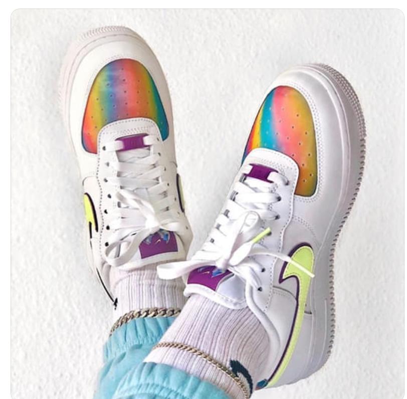 Zapatillas AirForce Multicolor