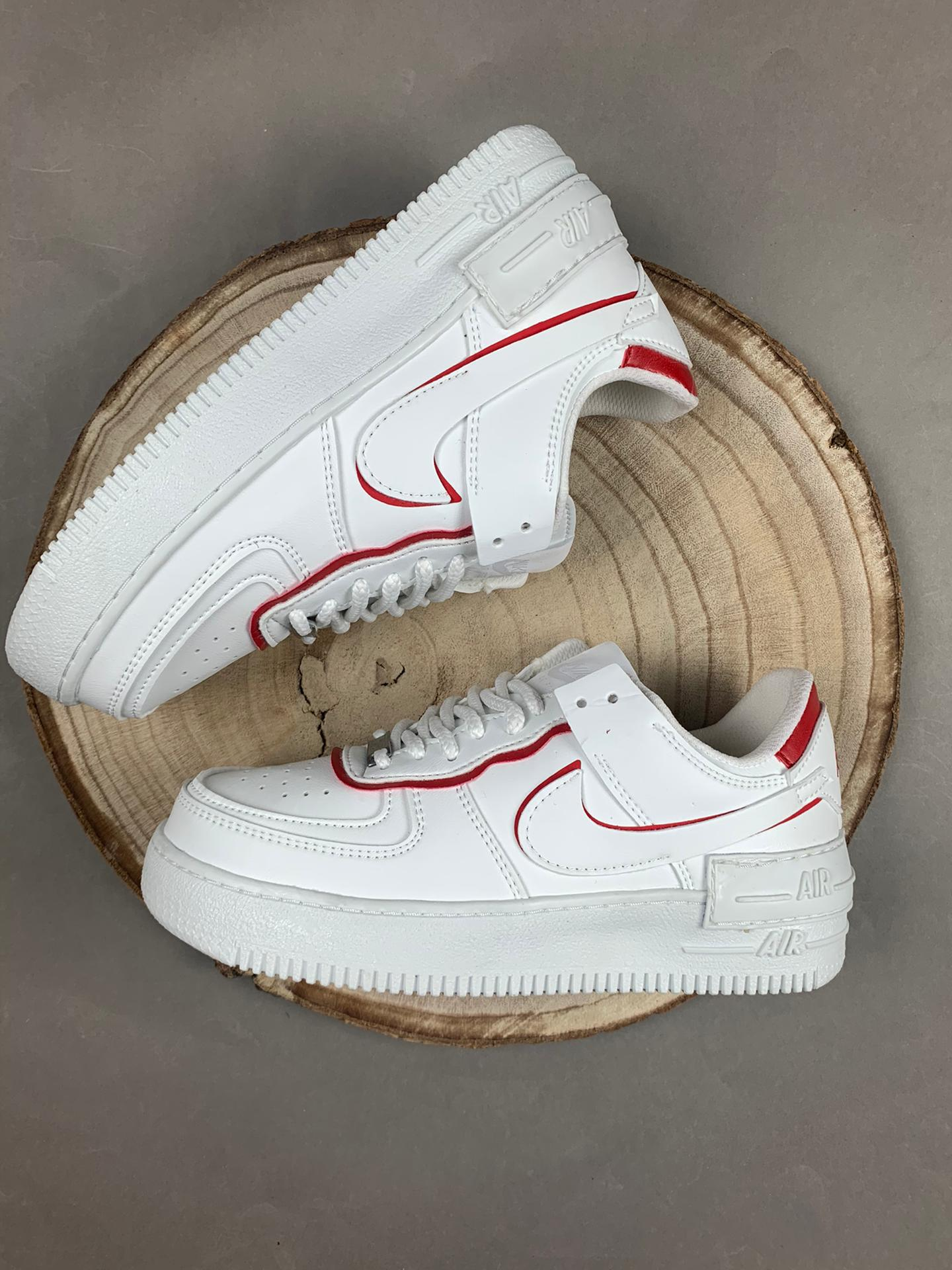 Nike air force shadow red