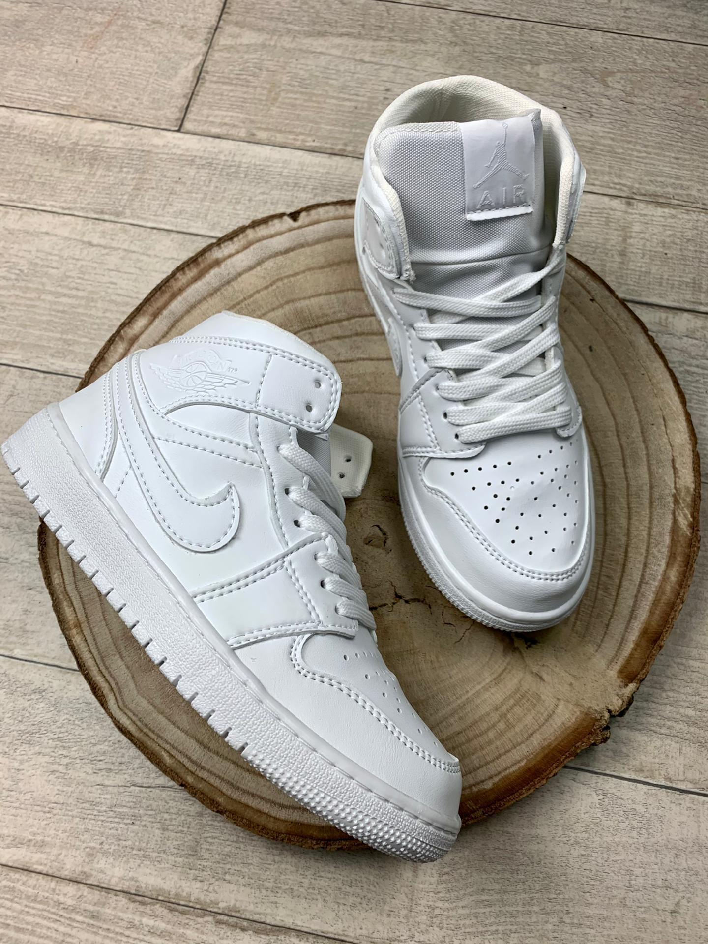 Jordan Nike Air White