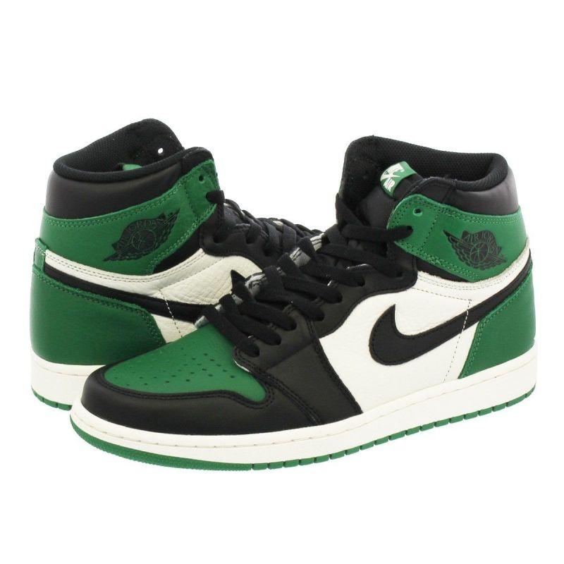 nike air jordan 1 one mid verdes 2